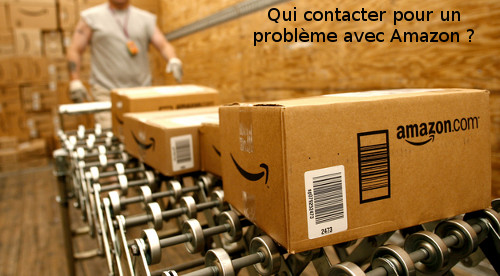 comment joindre amazon
